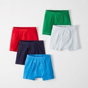 NWT Hanna Andersson 5-pack boxer briefs